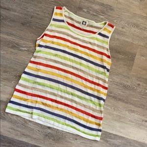 Anne Klein size small sleeveless blouse.